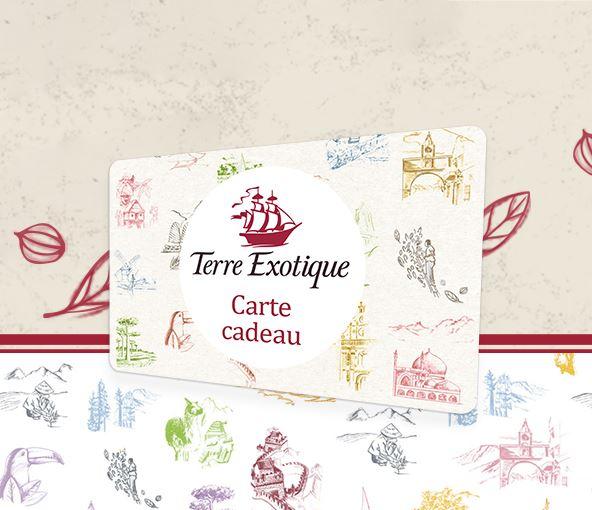 Carte cadeau - Terre Exotique