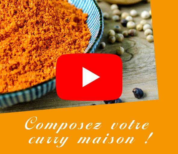 Composez votre curry maison - Terre Exotique